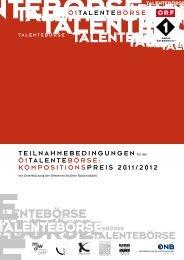 Teilnahmebedingungen - Universität für Musik und darstellende ...