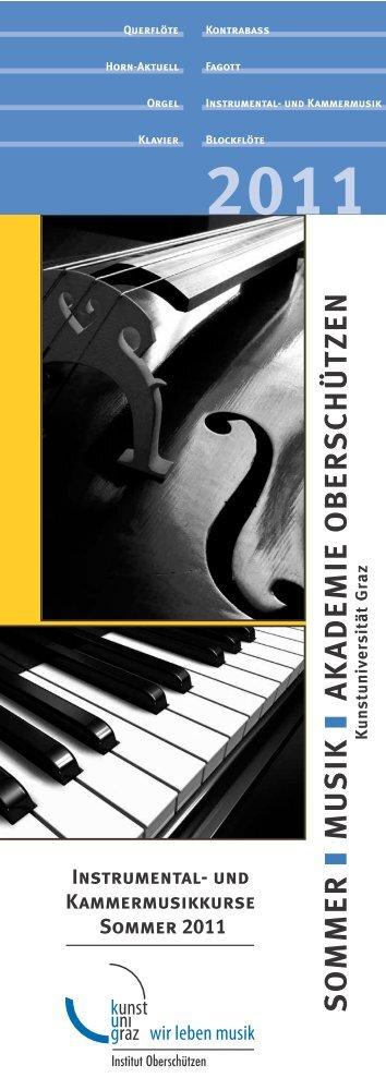 2011 - Universität für Musik und darstellende Kunst Graz