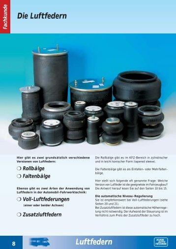 Die Luftfedern Luftfedern - Kuhn Auto Technik GmbH