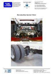 Mercedes-Benz Sprinter 4 Serie - Kuhn Auto Technik GmbH