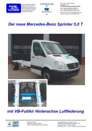 Sprinter 5,0t.indd - Kuhn Auto Technik GmbH