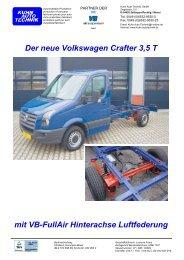 Der neue Volkswagen Crafter 3,5 T - Kuhn Auto Technik GmbH