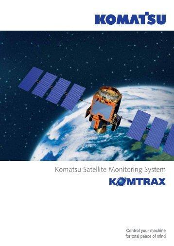 Komatsu Satellite Monitoring System - Kuhn