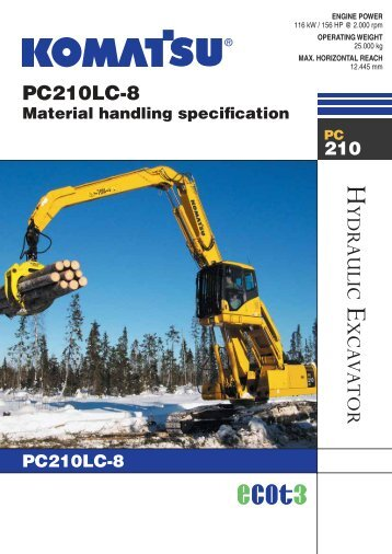 PC210LC-8
