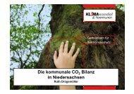 Die kommunale CO Bilanz in Niedersachsen - KuK Klimawandel ...