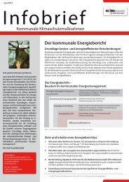 Der kommunale Energiebericht - KuK Klimawandel und Kommunen