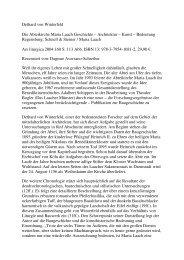 Rezension - Kultur am Mittelrhein Dagmar Aversano-Schreiber