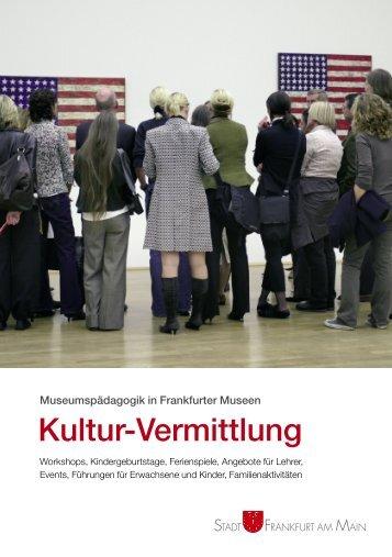 Kultur-Vermittlung - KulturPortal Frankfurt