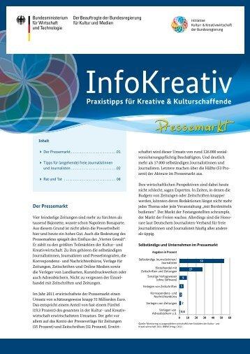 InfoKreativ Ausgabe 7 - Initiative Kultur- und Kreativwirtschaft