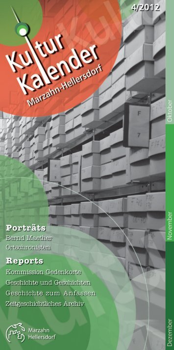 Porträts Reports - kultur-kalender.info