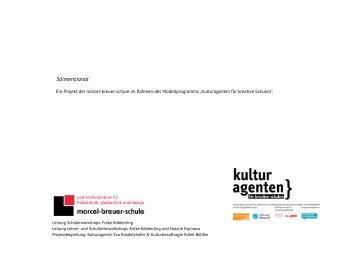 Dokumentation des Projektes 3dimensional [PDF ... - Kulturagenten