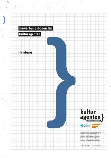 Bewerbungsbogen Fã¼r Kulturagenten Nordrhein Westfalen