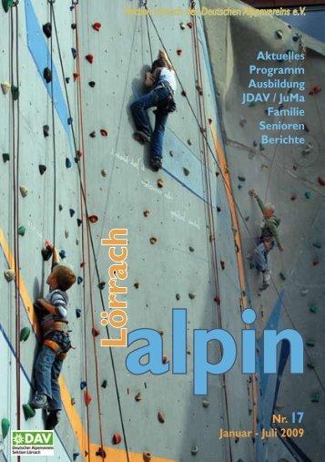 Lörrach alpin 17 - DAV Sektion Lörrach