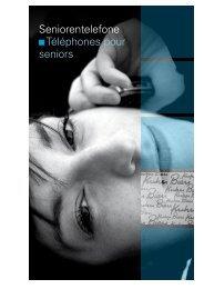 Seniorentelefone Téléphones pour seniors - Kuhn und Bieri AG