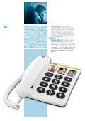 Seniorentelefone Téléphones pour seniors - Kuhn und Bieri AG - Page 4