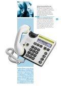 Seniorentelefone Téléphones pour seniors - Kuhn und Bieri AG - Page 7