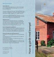 Huse og gårde med trempel - Kulturstyrelsen