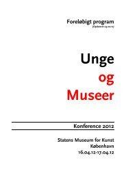 2 Program - unge og museer _3_ _JBA_ - Kulturstyrelsen