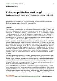 Text Miriam Normann als pdf - Kulturation