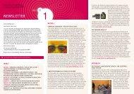 Newsletter Nr. 1 - Kulturelle Bildung in Schule und Jugendarbeit NRW
