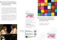 Lernen mit Kunst und Kultur - Kulturelle Bildung in Schule und ...