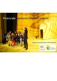 Nöhren_Potenziale außerschulischer Lernorte - Kulturelle Bildung ...