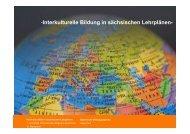 Interkulturelle Bildung in sächsischen Lehrplänen_Heike Paul
