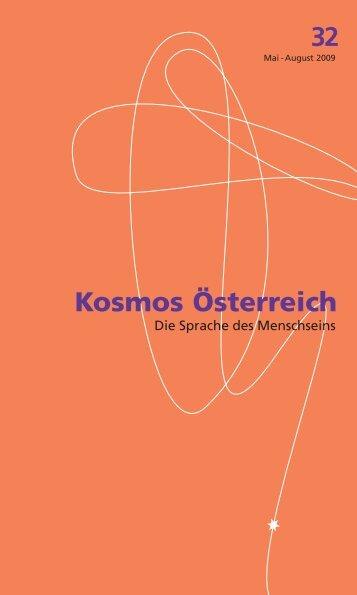 kosmos 32 pdf - Österreichisches Kulturforum Berlin