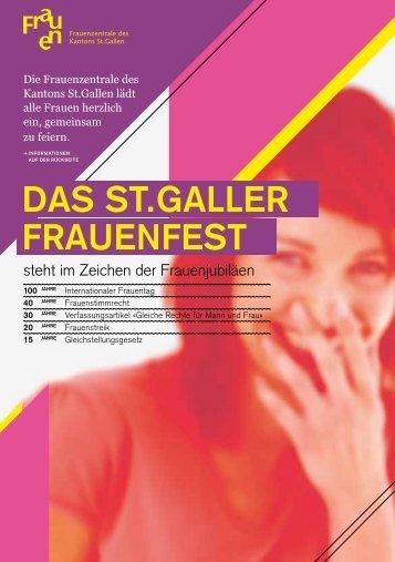 DAS ST.GALLER FRAUENFEST - Frauenzentralen