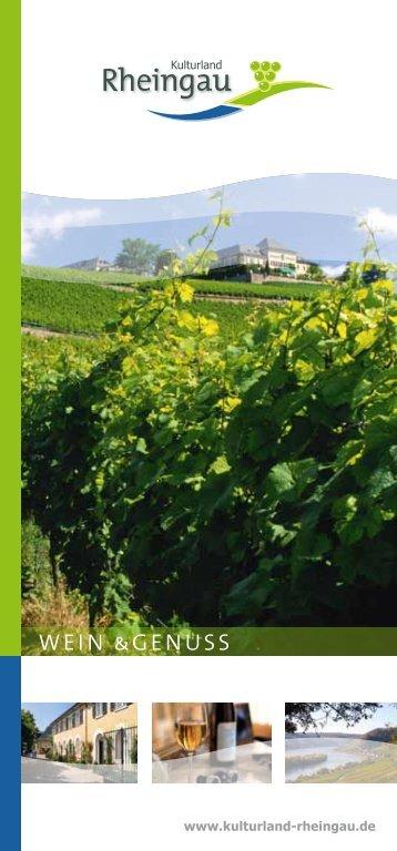 Wein &Genuss - Kulturland Rheingau