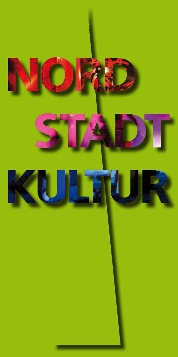Broschüre - Kulturmeile Nordstadt