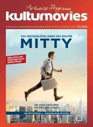 kulturnews präsentiert besondere Filme im Kino und auf DVD 01|2014
