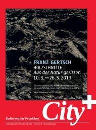 Kulturregion Frankfurt - Kulturnews