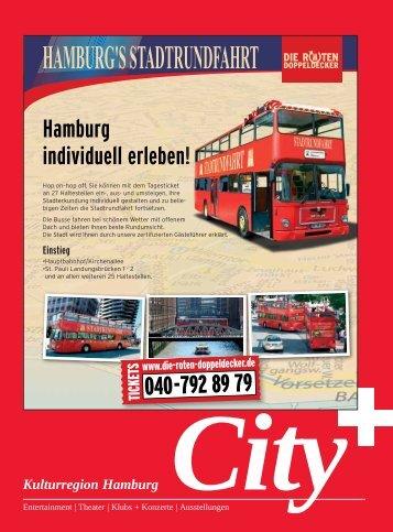 Hamburg individuell erleben! - Kulturnews