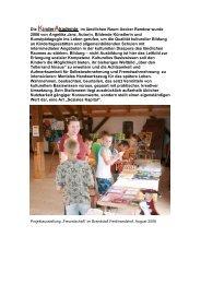 Die KinderAkademie im ländlichen Raum Uecker ... - Kulturportal