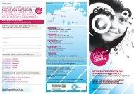 Flyer der Regionalkonferenzen - Kulturportal Mecklenburg ...
