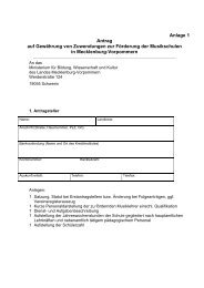 Anlage 1 Antrag auf Gewährung von Zuwendungen ... - Kulturportal