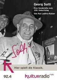 Georg Solti - Kulturradio