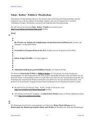 Islam Kultur Politik 6 Moscheebau - Deutscher Kulturrat