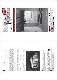 November, Dezember 2008 - Bochumer Kulturrat eV