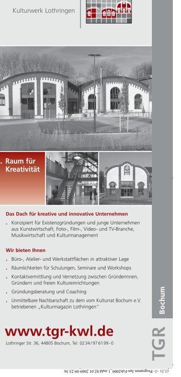 Januar, Februar 2009 - Bochumer Kulturrat eV