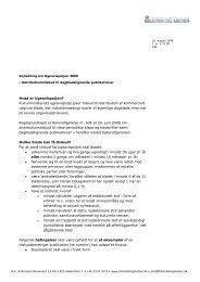 Ugeavispuljen - vejledning 2009 - Kulturstyrelsen