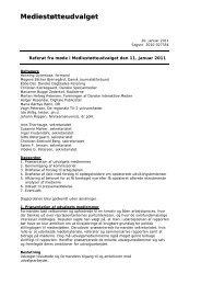 Referat fra møde 11. januar 2011 - Kulturstyrelsen
