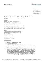 Referat fra 1. møde (pdf) - Kulturstyrelsen