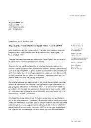 Afgørelse om reklame for Canal Digital sendt på TV 2 - Kulturstyrelsen