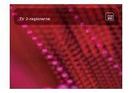 Støtteordninger til TV 2 Regionerne - oplæg ved ... - Kulturstyrelsen