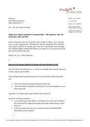 Klage over skjult reklame for Danske Spil i