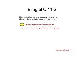 Bilag til C 11-2 - Kulturstyrelsen