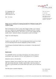Klage over tv-reklame for slankeproduktet XL-S - Kulturstyrelsen
