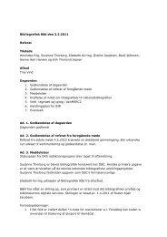 Referat af møde den 3. februar 2011 - Kulturstyrelsen